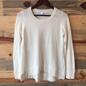 Diane Von Furstenberg Ivory Cashmere Sweater S
